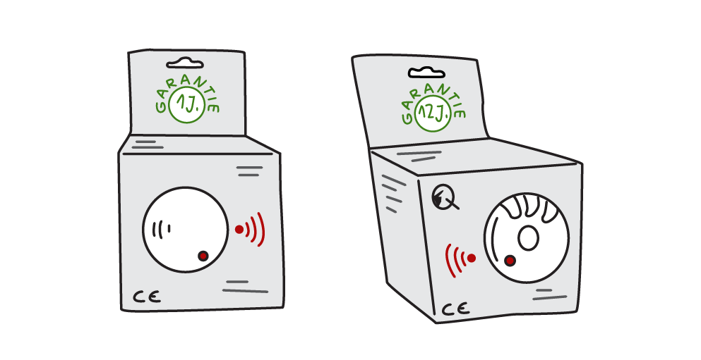 Garantielaufzeit bei Funkrauchmeldern