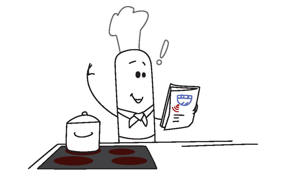 Küchentaugliche Funkrauchmelder